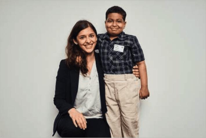 Dr. Sita Arjune (Germany) meets Maheer Chirag Ghjadiyali (India)