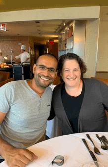 Doron and Kim (Israel/USA)